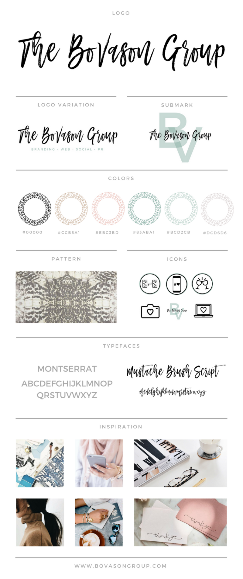 Brand Board Template _ Basil & Bark
