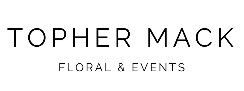 Topher Mack Floral & EVents- SUBMARK and Alternative Logo