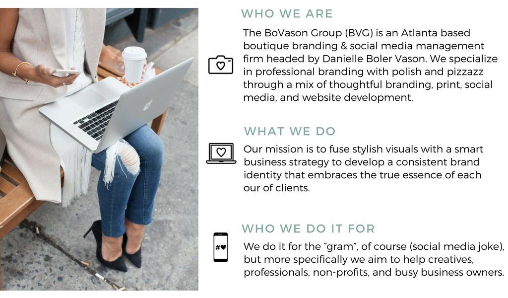 The BoVason Group- Atlanta Branding and Social Media Development
